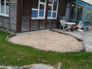 Sandkasten der U-3 Gruppe