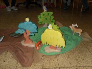 "Thema: ""Tiere im Wald"""