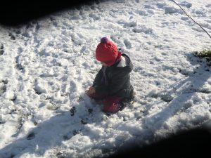 Puuuh!!! Ganz schön kalt!