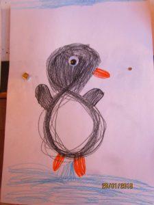 Pitsch patsch Pinguin....