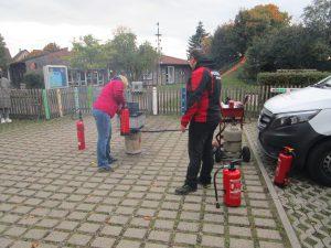 Brandschutz im Kindergarten.